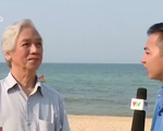 'Vệt nước đỏ dọc bờ biển Quảng Bình có thể là thủy triều đỏ'