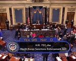 Thượng viện Mỹ đồng thuận tuyệt đối trừng phạt Triều Tiên