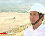 Nhiều hồ ở Ninh Thuận trơ đáy do hạn hán