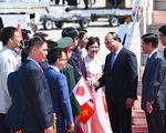 Thủ tướng tới Nagoya, bắt đầu thăm Nhật Bản và dự Hội nghị G7 mở rộng