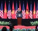 VIDEO Tổng thống Obama phát biểu về quan hệ Việt Nam - Mỹ
