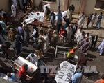 Hiện trường vụ đánh bom bệnh viện đẫm máu ở Pakistan