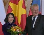 Phó Chủ tịch nước hội kiến lãnh đạo Cộng hòa Czech