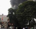 Cháy lớn ở Hà Nội, 5 nhà dân bị thiêu rụi
