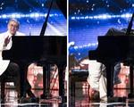 """Britain's Got Talent: Ngỡ ngàng với thí sinh """"cắm đầu xuống đất chơi piano"""