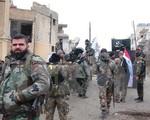 Đạt được thỏa thuận ngừng bắn tạm thời trên lãnh thổ Syria