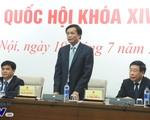 Quốc hội khóa XIV sẽ tập trung xem xét, quyết định về nhân sự cấp cao