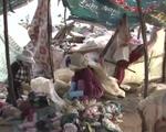 Mưu sinh trên bãi rác, người dân ăn, ngủ với tử thần