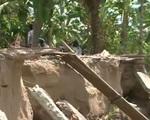 Hậu Giang: Liên tiếp xảy ra sạt lở bờ sông trong mùa mưa bão