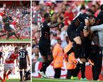 Arsenal gục ngã trước Liverpool trong trận cầu điên rồ