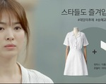 """""""Hậu duệ mặt trời"""" siêu hot, váy Song Kye Kyo mặc bán chạy như tôm tươi"""