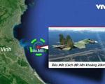 Máy bay Su-30MK2 mất liên lạc trên vùng biển Nghệ An