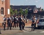 Tấn công bằng dao tại Bỉ, 2 cảnh sát bị thương