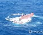 Hàn Quốc mở rộng tìm kiếm 6 thuyền viên Việt Nam mất tích