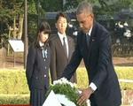 Ông Obama trở thành Tổng thống Mỹ đương nhiệm đầu tiên thăm Hiroshima