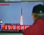 Nhật Bản báo động sau vụ thử tên lửa của Triều Tiên