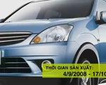 Mitsubishi triệu hồi hơn 2.500 xe Zinger tại Việt Nam