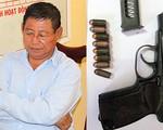 An Giang thu giữ súng trong vụ Trung tá Campuchia bắn 2 người Việt