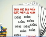 Hơn 800 sản phẩm thủy sản mua giấy lưu hành