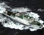 Tàu do thám của Hải quân Trung Quốc xâm nhập lãnh hải Nhật Bản