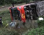 Hà Nam: Lật xe khách trên Quốc lộ 21B làm 7 người bị thương