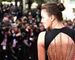 Irina Shayk khoe lưng trần gợi cảm trên thảm đỏ Cannes