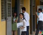 Thí sinh tự tin bước vào kỳ thi THPT Quốc gia