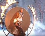 Americas Got Talent: Cặp vợ chồng phi dao thản nhiên đùa với lửa