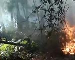 Cháy rừng và nhà dân liên tiếp xảy ra tại Nghệ An