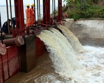 Sẽ có 3 đợt xả nước phục vụ sản xuất vụ Đông Xuân 2016