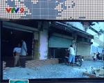 Nhà dân biến thành hầm khi xây đường chống ngập tại TP.HCM