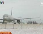 Hàng không Mỹ tê liệt do thời tiết lạnh