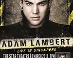 Adam Lambert lưu diễn vòng quanh thế giới