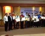 Vinh danh và thưởng nóng học sinh Việt Nam tham dự Intel ISEF 2015