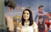 Diễn viên Kiều Thanh gửi lời chúc đến VTV