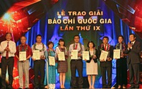 Đài THVN giành 5 giải Báo chí Quốc gia 2014