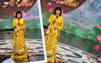 Táo quân 2015: MC Thảo Vân trẻ trung, rạng ngời trên trường quay