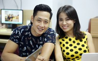 Mạnh Hưng -  Quỳnh Hoa gửi lời chúc đến VTV