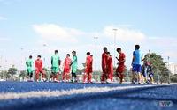 SEA Games 30: U22 Việt Nam tập luyện dưới thời tiết nắng nóng, chuẩn bị cho trận gặp U22 Lào