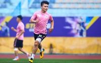 ẢNH: CLB Hà Nội trở lại tập luyện sau 1 tuần gián đoạn vì virus Corona