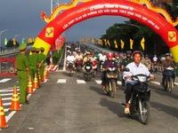 Khánh thành cầu vượt đường sắt Bắc-Nam với Quốc lộ 46