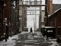 Mỹ:Hơn 100 vụ tai nạn ô tôvìbăng tuyết trong ngày 11/11