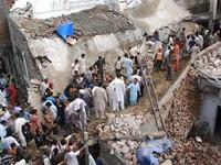 Sập nhà thờ Hồi giáo ở Pakistan, ít nhất 24 người thiệt mạng