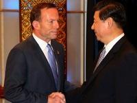 Australia và Trung Quốc đạt thỏa thuận về thương mại tự do