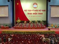 Hơn 1000 đại biểu dự ĐH toàn quốc MTTQ Việt Nam lần thứ 8