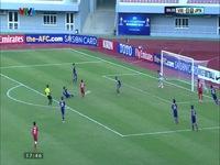 Pha phối hợp tấn công tuyệt hay của U19 Việt Nam