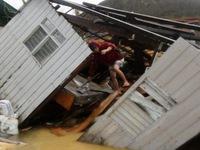 Bão Hagupit gây ngập lụt một số điểm ở Manila