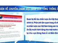Quan hệ Việt - Ấn trên báo chí Ấn Độ và khu vực