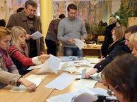 Đảng của Tổng thống Poroshenko tạm dẫn đầu trong cuộc bầu cử Ukraine