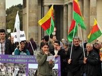 Hàng nghìn người Kurd biểu tình phản đối phiến quân IS